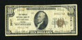 National Bank Notes:Virginia, Leesburg, VA - $10 1929 Ty. 1 The Peoples NB Ch. # 3917. ...