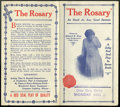 "Movie Posters:Drama, The Rosary (V-L-S-E, 1915). Herald (8"" X 8.75""). Drama...."