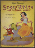 "Movie Posters:Animated, Snow White and the Seven Dwarfs (Walt Disney, 1938). Books (2) (4""X 4.5"") and (9.5"" X 13""). Animated.... (Total: 2 Items)"