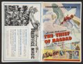 "Movie Posters:Fantasy, The Thief of Bagdad (United Artists, 1940). Pressbook (12"" X 18"")(Multiple Pages). Fantasy...."