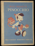 "Movie Posters:Animated, Pinocchio (RKO, 1940). Book (6"" X 8.5"") (90 Pages). Animated...."