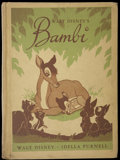 "Movie Posters:Animated, Bambi (RKO, 1944). Book (6"" X 8.5"") (102 Pages). Animated...."