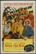 """Movie Posters:War, Fighter Attack (Allied Artists, 1953). One Sheet (27"""" X 41"""").War...."""