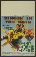 "Movie Posters:Musical, Singin' in the Rain (MGM, 1952). Window Card (14"" X 22"").Musical...."
