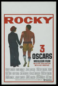 "Movie Posters:Sports, Rocky (United Artists, 1977). Belgian (14"" X 22"") Academy Award. Sports...."