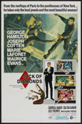 """Movie Posters:Crime, Jack of Diamonds (MGM, 1967). One Sheet (27"""" X 41""""). Crime...."""