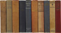 Books:Fiction, Lot of Ten H. Rider Haggard Novels,... (Total: 10 Items)