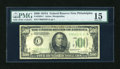 Small Size:Federal Reserve Notes, Fr. 2202-C $500 1934A Federal Reserve Note. PMG Choice Fine 15.. ...