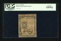 Colonial Notes:Pennsylvania, Pennsylvania October 1, 1773 50s PCGS About New 53PPQ....
