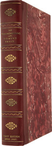 Books:First Editions, Clamshell Conservation Case for Freud's Die Traumdeutung....