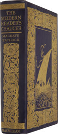 Books:Fiction, Geoffrey Chaucer. The Complete Poetical Works of GeoffreyChaucer. New York: The Macmillan Company, 1912....