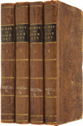 Books:Fiction, The Works of John Gay in Four Volumes, Bound Uniformly in TreeCalf.... (Total: 4 Items)