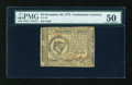 Colonial Notes:Continental Congress Issues, Continental Currency November 29, 1775 $8 PMG About Uncirculated50....