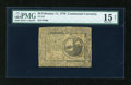 Colonial Notes:Continental Congress Issues, Continental Currency February 17, 1776 $2 PMG Net Choice Fine15....
