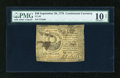 Colonial Notes:Continental Congress Issues, Continental Currency September 26, 1778 $30 PMG Net Very Good10....