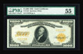 Large Size:Gold Certificates, Fr. 1220 $1000 1922 Gold Certificate PMG About Uncirculated 55....