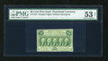 Fractional Currency:First Issue, Fr. 1313 50c First Issue PMG Net About Uncirculated 53....