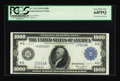 Large Size:Federal Reserve Notes, Fr. 1133 $1000 1918 Federal Reserve Note PCGS Very Choice New 64PPQ....