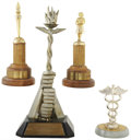 Movie/TV Memorabilia:Awards, Glenn Ford's City of Hope Humanitarian Awards.... (Total: 4 Items)