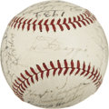Autographs:Baseballs, 1939 New York Yankees World Champion Team Signed Baseball....
