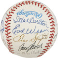 Autographs:Baseballs, 1998 Hall Of Fame Induction Multi-Signed Baseball....