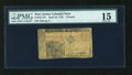 Colonial Notes:New Jersey, New Jersey April 10, 1759 L3 PMG Choice Fine 15....