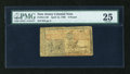 Colonial Notes:New Jersey, New Jersey April 12, 1760 L3 PMG Very Fine 25....
