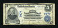National Bank Notes:Pennsylvania, East Conemaugh, PA - $5 1902 Plain Back Fr. 598 The First NB Ch. # 6979. ...
