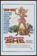 "Movie Posters:Adventure, The Vengeance of She (20th Century Fox, 1968). One Sheet (27"" X41""). Adventure...."