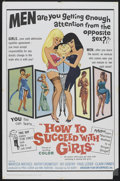 "Movie Posters:Comedy, How to Succeed with Girls (United Producers Releasing Organization, 1964). One Sheet (27"" X 41""). Comedy...."