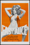 """Movie Posters:Adult, Easy Alice (Unknown, 1960s). One Sheet (27"""" X 41""""). Adult...."""