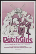 """Movie Posters:Adult, Dutch Girls (Distribpix, 1970s). One Sheet (27"""" X 41""""). Adult...."""