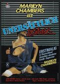 """Movie Posters:Adult, Insatiable (Miracle Films, 1980). German A1 (23"""" X 33""""). Adult...."""