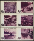 """Movie Posters:Documentary, The World at War (War Activities Committee, 1942). Lobby Cards (6) (11"""" X 14""""). Documentary.... (Total: 6 Items)"""