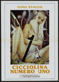 """Movie Posters:Adult, Cicciolina Number One (Unknown, 1986). Spanish Poster (19.5"""" X 27.5""""). Adult...."""
