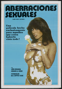 """Bloodthirsty Butchers (Capitol Films, 1970). Spanish Poster (26"""" X 37.5""""). Horror"""
