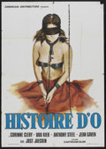 "Movie Posters:Sexploitation, The Story of O (American Distributors, 1976). Italian Poster (27.5""X 39""). Sexploitation...."
