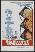 "Movie Posters:Comedy, Sex Kittens Go to College (Allied Artists, 1960). One Sheet (27"" X 41""). Comedy...."