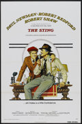"""Movie Posters:Crime, The Sting (Universal, 1973). One Sheet (27"""" X 41"""") Tri-Folded.Crime...."""