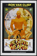 "Movie Posters:Documentary, The Super Weapon (Howard Mahler Films, 1975). One Sheet (27"" X 41"") Tri-Folded. Documentary...."