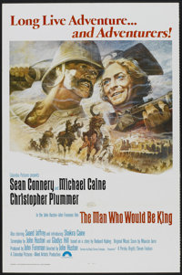 """The Man Who Would Be King (Columbia, 1975). One Sheet (27"""" X 41""""). Adventure"""