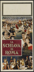 "Movie Posters:Adventure, Slave of Rome (Atlantica Cinematografica, 1962). Italian Locandina(13"" X 27.5""). Adventure...."