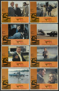 "Movie Posters:Action, McQ (Warner Brothers, 1974). Lobby Card Set of 8 (11"" X 14"").Action.... (Total: 8 Items)"