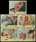 "Movie Posters:Adventure, X-15 (United Artists, 1961). Lobby Cards (5) (11"" X 14"").Adventure.... (Total: 5 Items)"