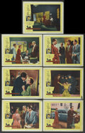 "Movie Posters:Film Noir, Witness to Murder (United Artists, 1954). Lobby Cards (7) (11"" X 14""). Film Noir.... (Total: 7 Items)"