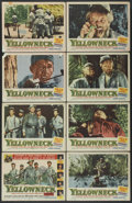 "Movie Posters:Adventure, Yellowneck (Republic, 1955). Lobby Card Set of 8 (11"" X 14"").Adventure.... (Total: 8 Items)"