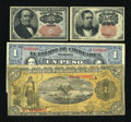 Fractional Currency:Fifth Issue, Fr. 1265 10c Fifth Issue VF. Fr. 1309 25c Fifth Issue Choice AboutNew.. ... (Total: 4 notes)