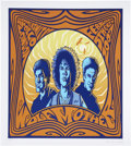"Music Memorabilia:Posters, Wolfmother Concert Signed Poster Group of 2 (2006-07) 24.5"" x 28.5""and 26"" x 29"".... (Total: 2 Items)"