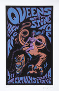 "Music Memorabilia:Posters, Queens of the Stone Age Concert Poster Signed and Numbered Group of5 (2003-07) 16"" x 23.5"" to 26"" x 33"".... (Total: 5 Items)"