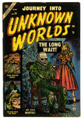 Golden Age (1938-1955):Horror, Journey Into Unknown Worlds #19 (Atlas, 1953) Condition: VG....